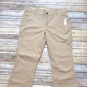 NWT SweetHeart bootcut khaki pants size12